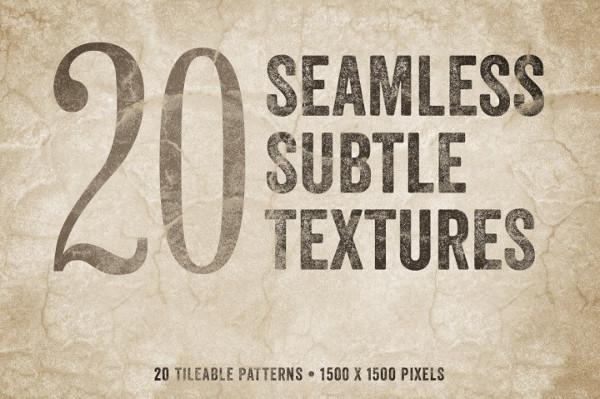 Seamless Subtle Textures