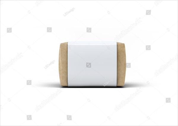 Soap Bar Paper Sleeve Packaging Mockup