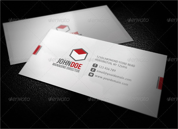 Stylish Corporate Business Cards Template
