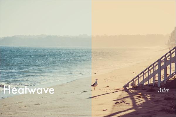 Summer Heatwave Photoshop Actions