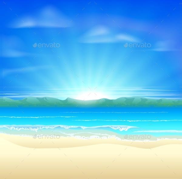 Summer Sand Beach Backgrounds