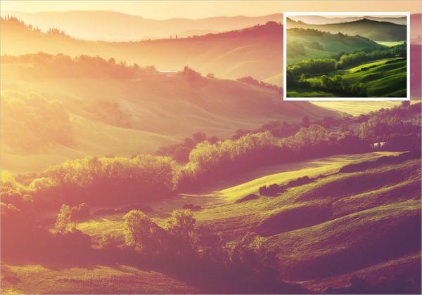 Sunken Sunlight Photoshop Action Free