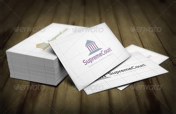 Supreme Court Logo Design