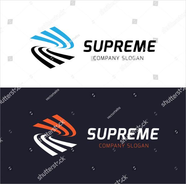 Supreme Vector Design Logo