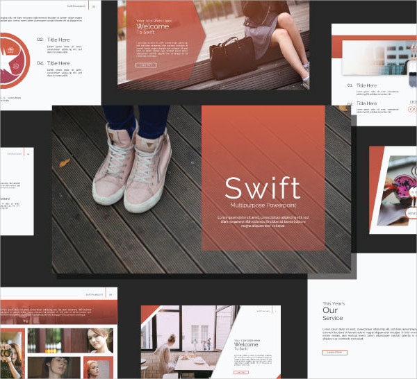 Swift Google Slide Templates