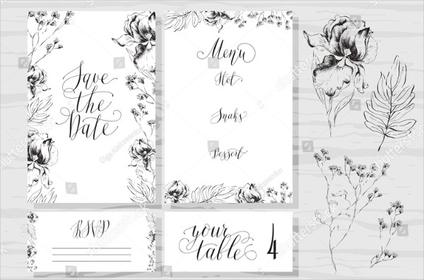 Printable Rustic Wedding Invitations