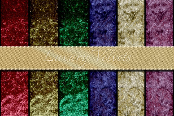 Velvet Royal Fabric Textures
