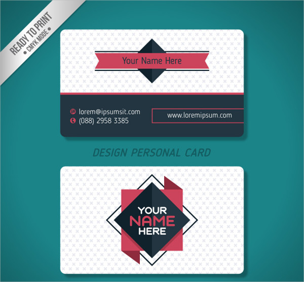 Personal Visiting Business Card Free Download