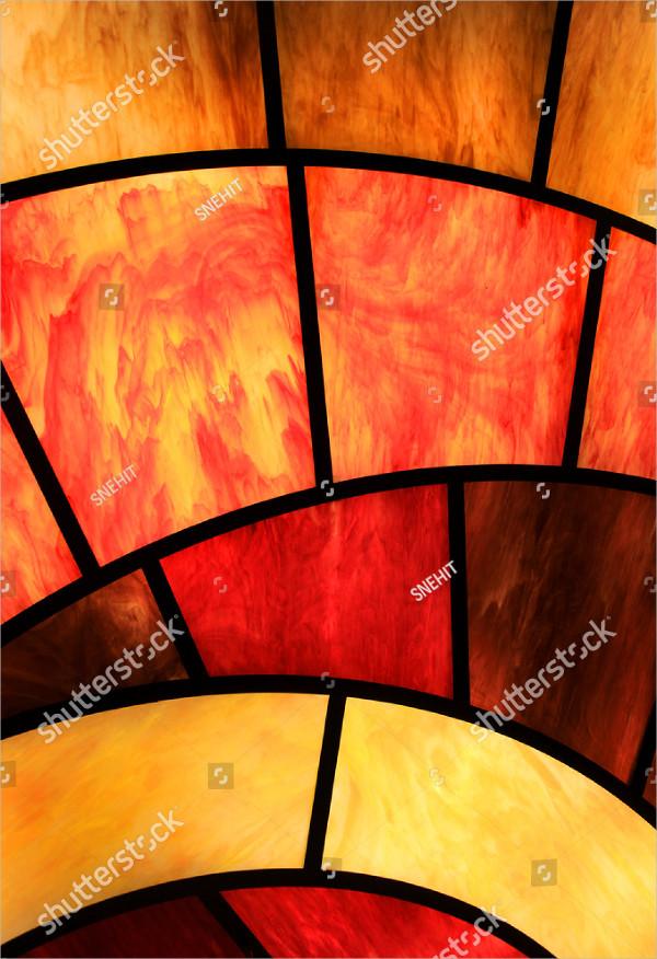Window Glass Background