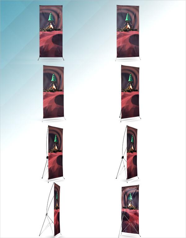 X-Banner Mock-Ups Design