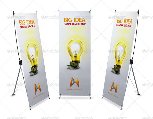 Printable X-Banner Mock-Up