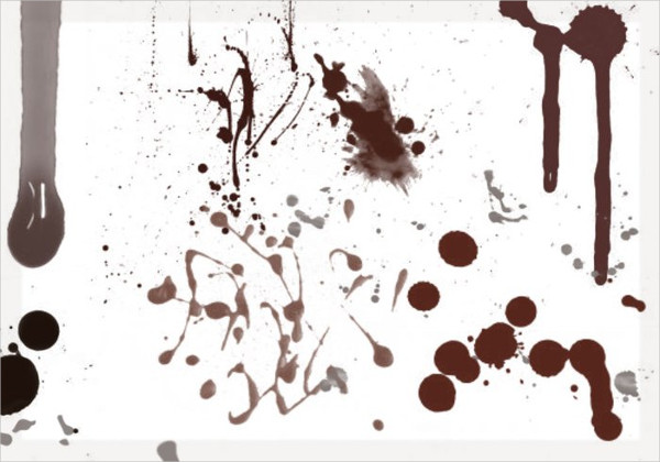 13 Blood And Splatter Brushes Free Download