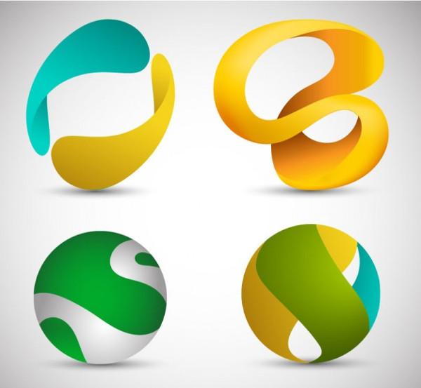 3D Logos Free Download