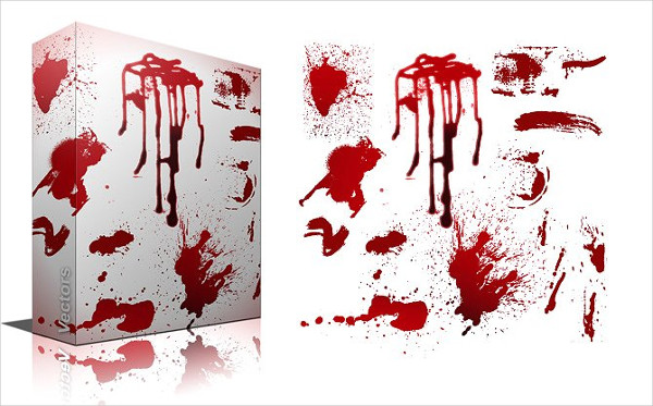 Blood and Splash Photoshop Brushes
