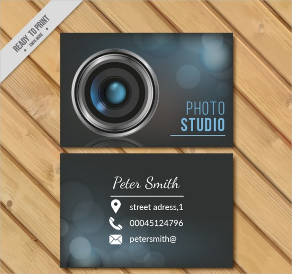 Free Download Photo Studio Business Card