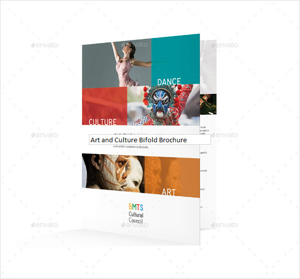 Art and Culture Bifold Brochure