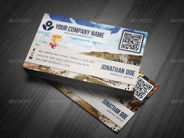 Artistic Painting Business Cards