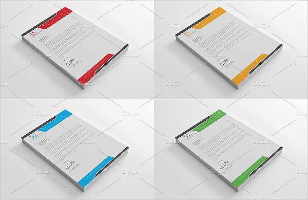 Business Letterhead Samples