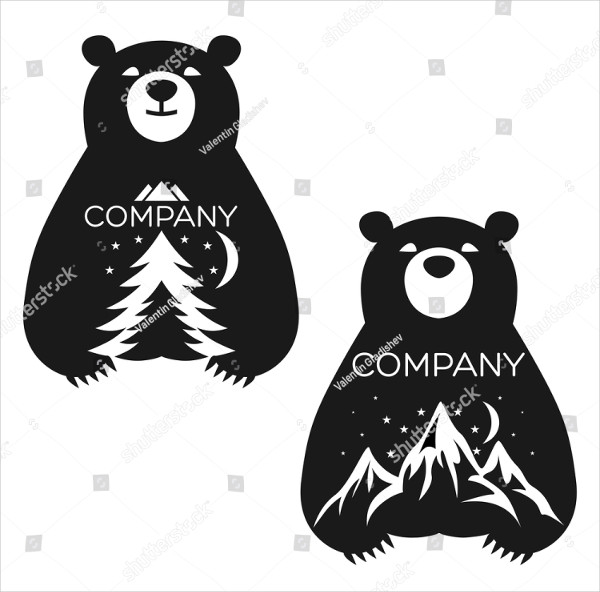 Baby Bear Logo Design