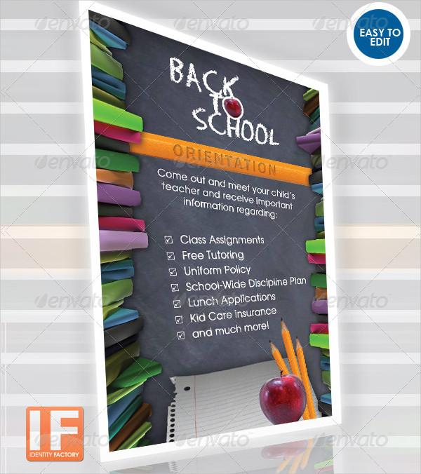 Back 2 School Orientation Flyer