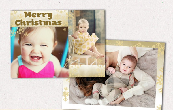Beautiful Christmas Photo Cards Design