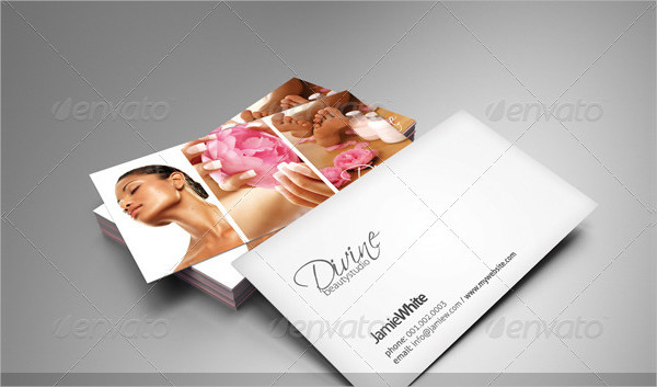 Beauty Studio Business Cards