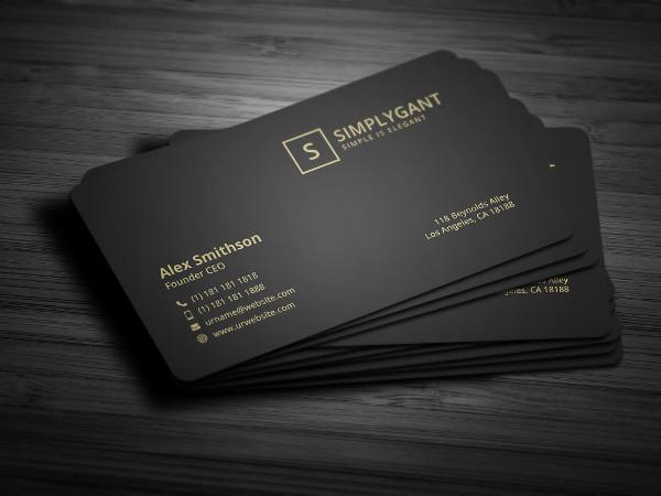 Best Luxurious Business Cards