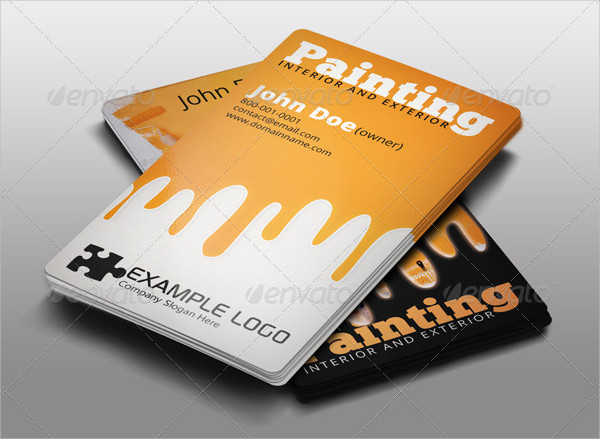 Best Paint Business Card Template