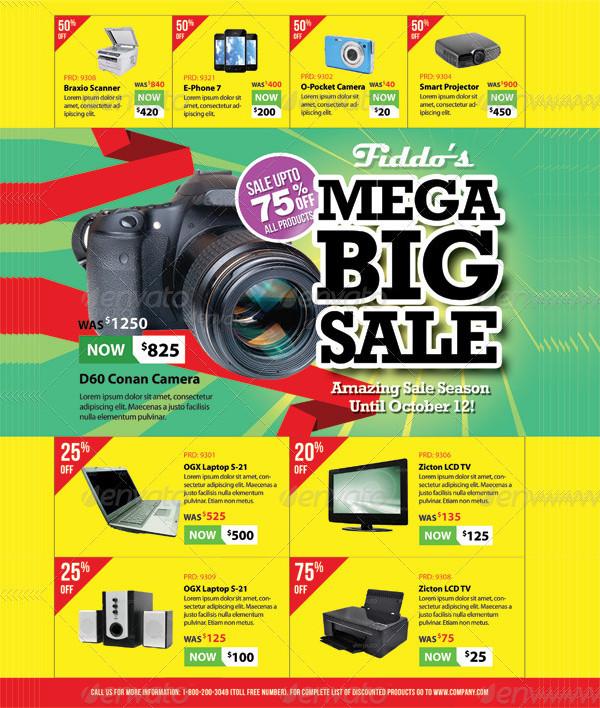 Big Sale Promotion Flyers