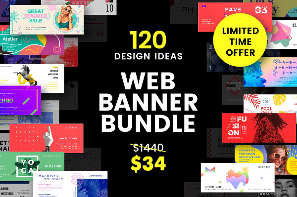 Big Web Banner Templates Bundle