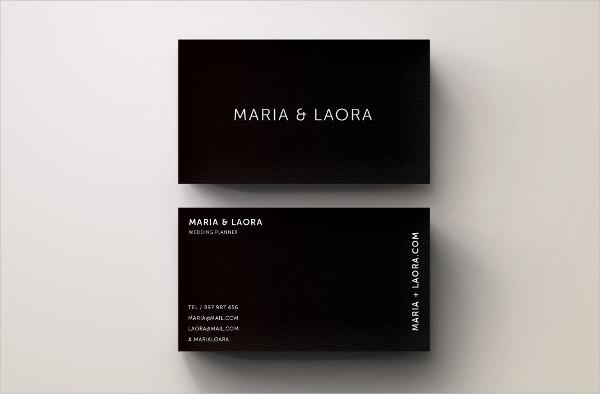 Black & White Modern Business Cards Design
