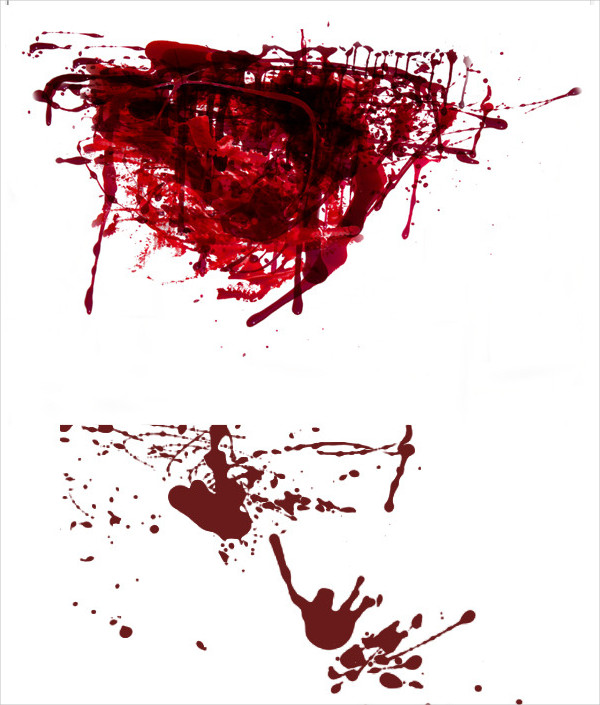 Blood Splatter Brushes Photoshop