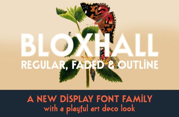 Unique Poster Display Font