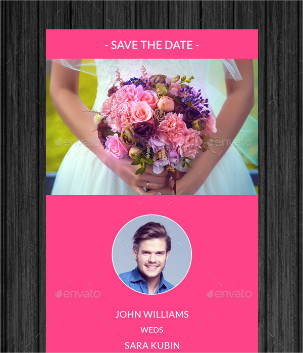 Bridegroom Email Invitation Template
