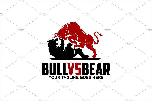 Bull Vs Bear Logo