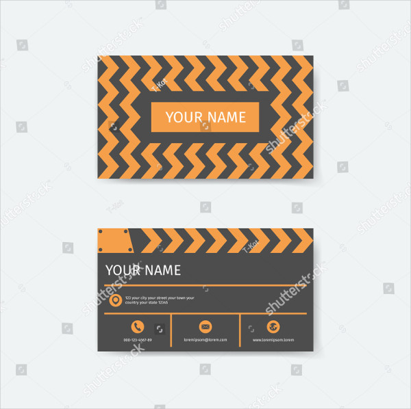 Business Card Design Template for Film Makers