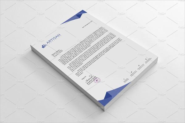 Business Identity Letterhead