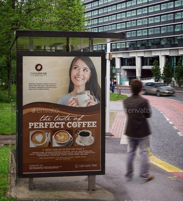 Cafe Restaurant Poster