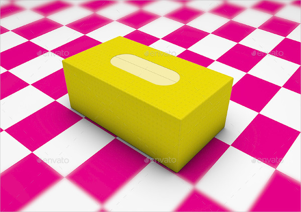 Branding Cardboard Box Mock-Up