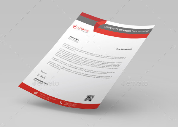 Examples of Letterhead for Businesses