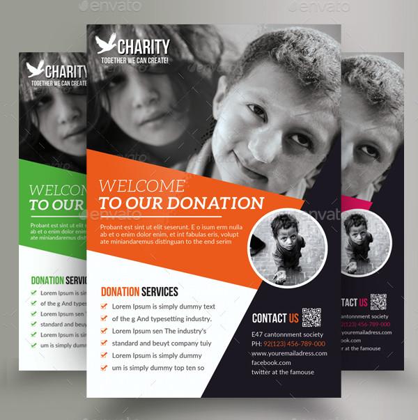 Best Donation Flyers Bundle