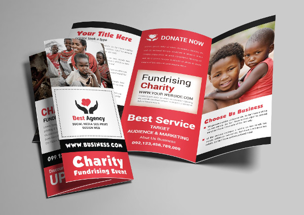 Custom Charity Brochure Template