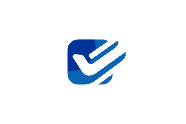 Check Box Logo Template