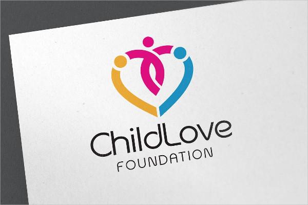 Child Love Logo Template