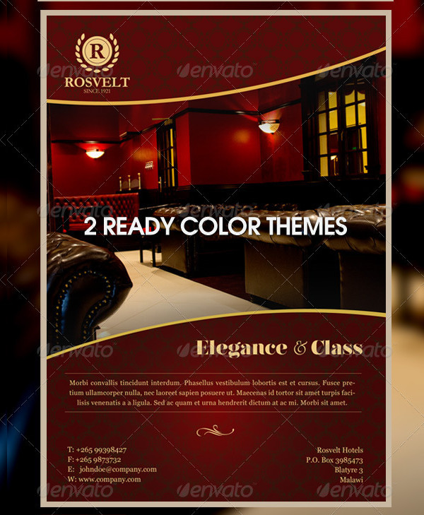 Elegance & Class Flyer Template