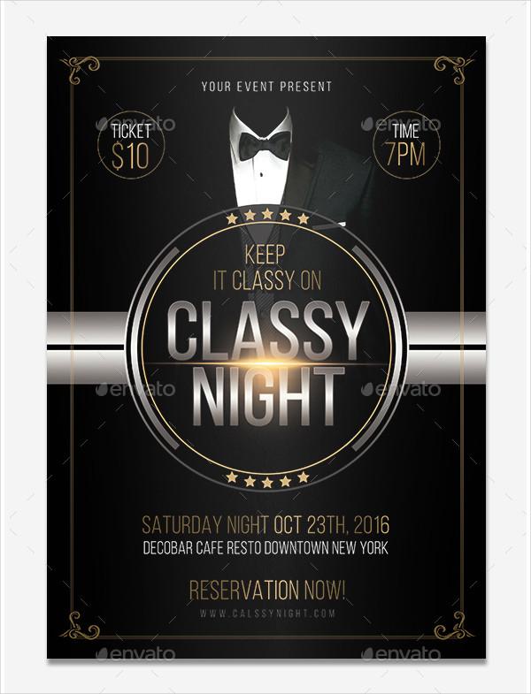 Classy Night Elegant Flyer