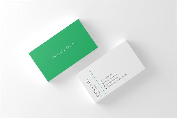 Classy Modern Business Card Template