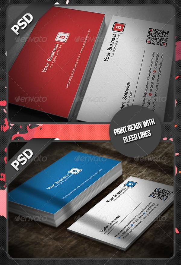 Clean Creative Business Card Designs