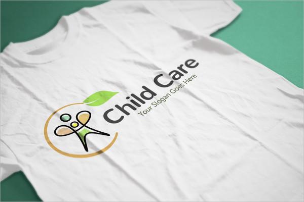 Clean Kids Care Logo Template