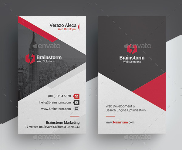 Clean & Modern Business Card Template